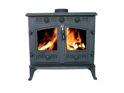 FoxHunter Cast Iron Log Wood Stove Review