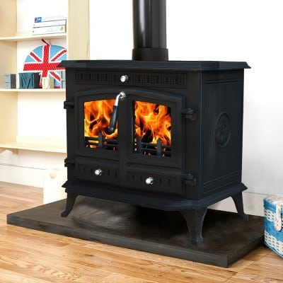 Lincsfire Branston 12KW Cast Iron Log-Burner Review