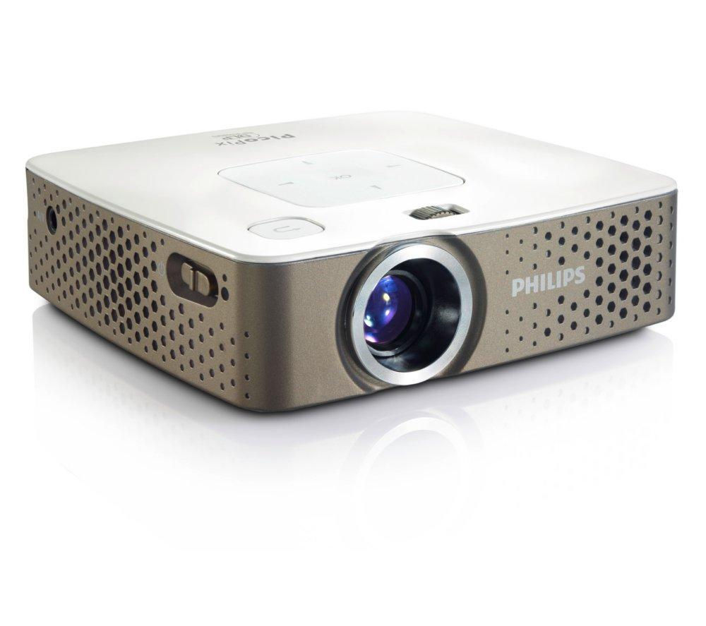 Philips PicoPix PPX3414 LED Multimedia Pocket Projector Review