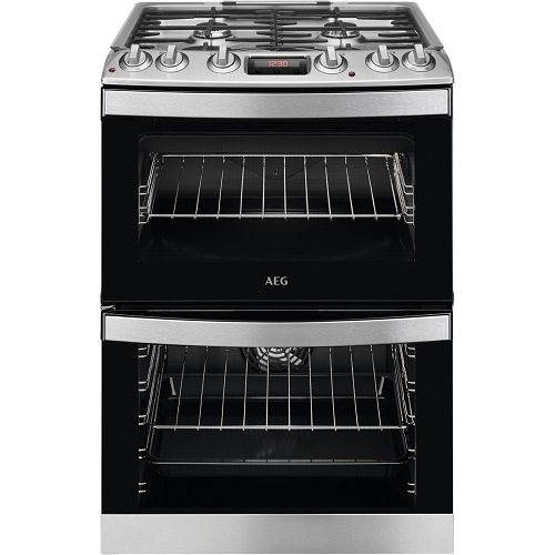 AEG CKB6540ACM Dual Fuel Cooker