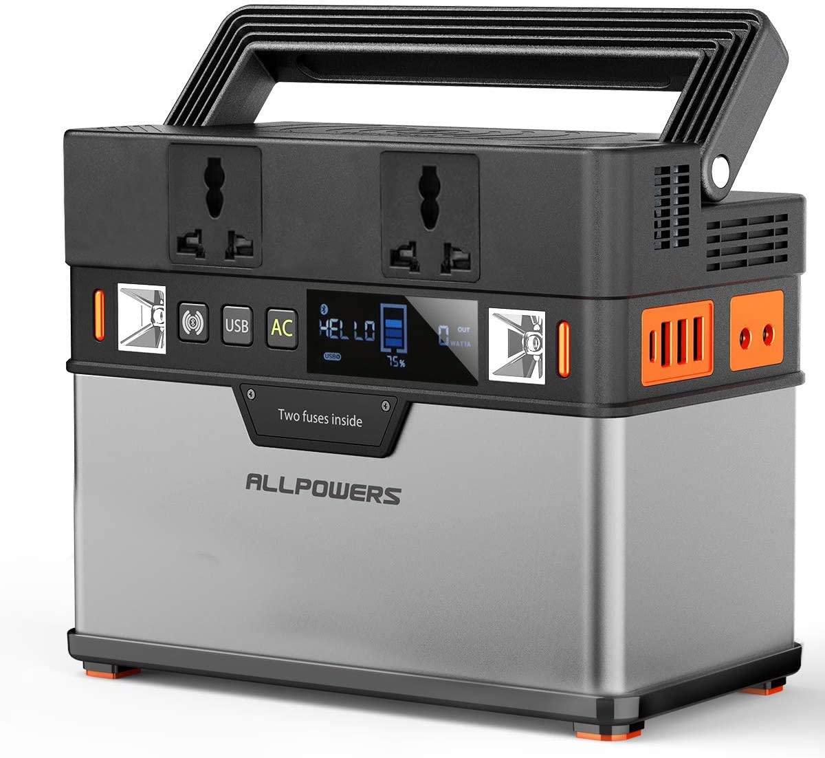ALLPOWERS Portable Generator 372Wh