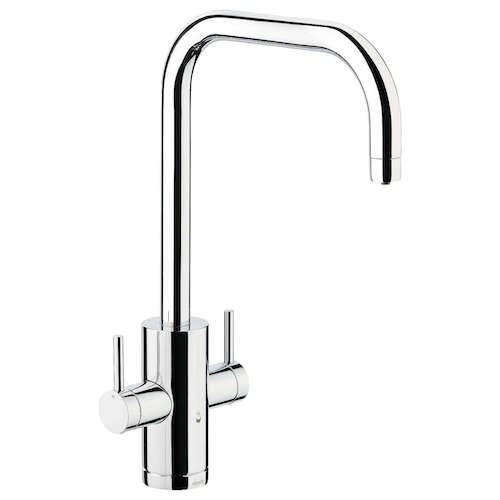 Abode Pronteau 2 Lever 4-in-1 Hot Water Filter Kitchen Mixer Tap