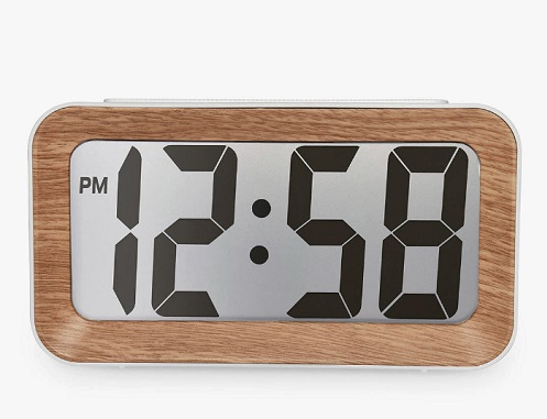 Acctim Larsen Smartlite® LCD Alarm Clock