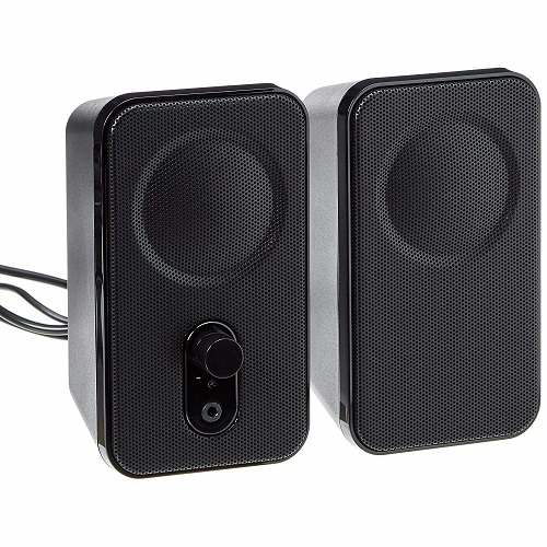 AmazonBasics Computer Speakers for Desktop or Laptop