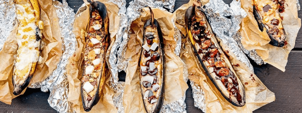 BBQ Grilled Bananas