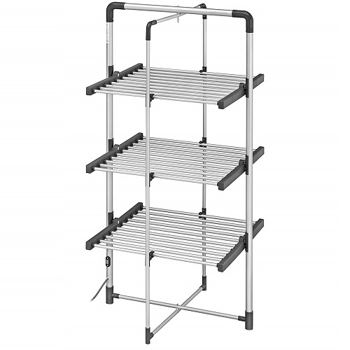 BLACK+DECKER BXAR0007GB 3-Tier Heated Clothes Airer