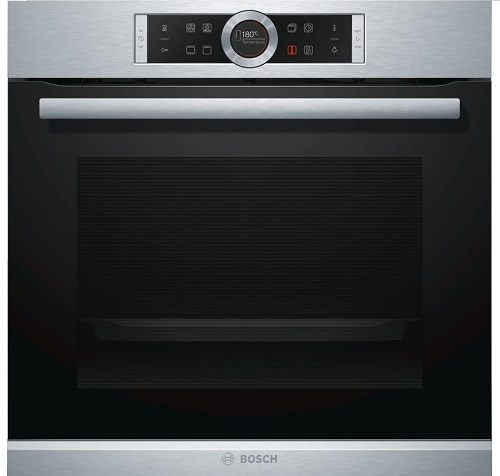 Bosch Serie 8 HBG634BS1B Electric Oven