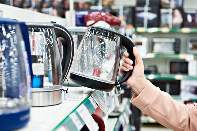 BUYING A QUIET KETTLE