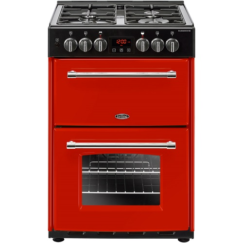 Belling Farmhouse60DF 60cm Dual Fuel Cooker