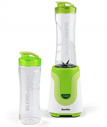 Breville Blend Active Personal Blender, 300 W, 50Hz-White Green - University Checklist
