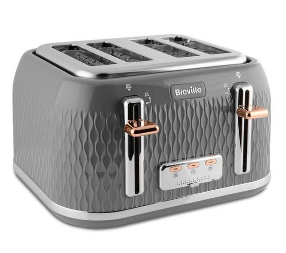 Breville Curve VTT912 4-Slice Toaster
