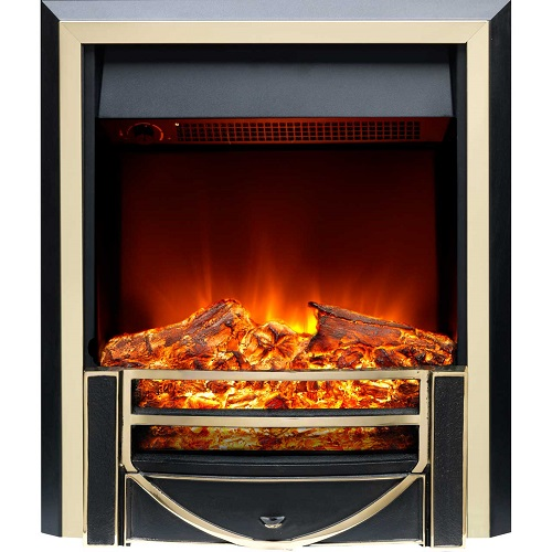Burley Ryhall 162R-BR Log Effect Inset Fire