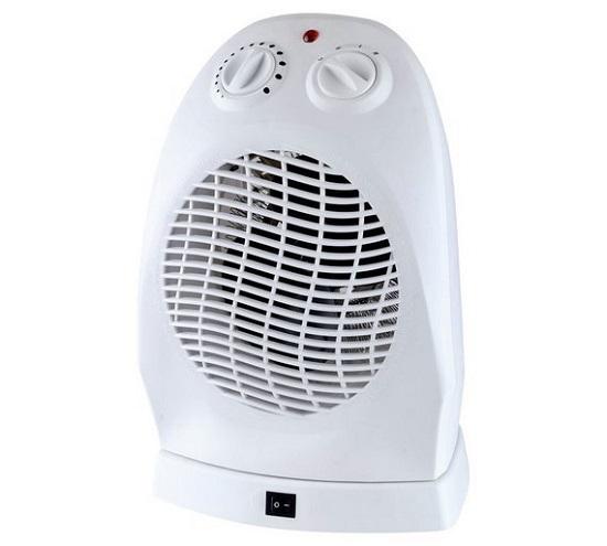 Argos Challenge Upright Oscillating Fan Heater