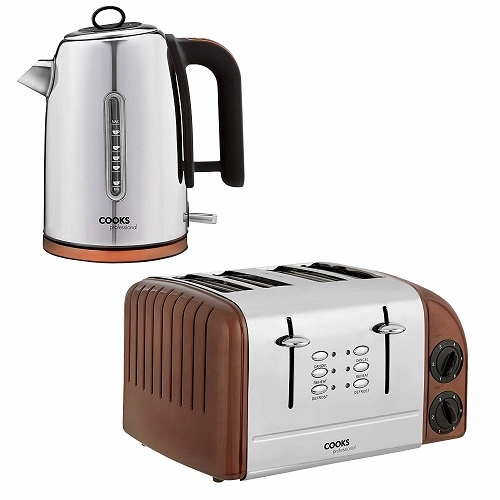 Cooks Professional Electric Kettle & Toaster Set