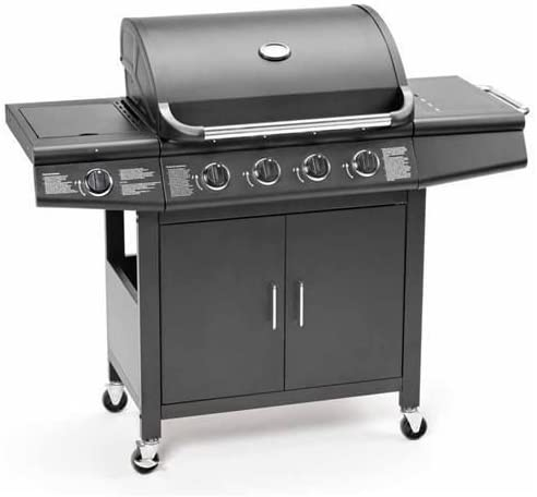 CosmoGrill Deluxe 4+1 Gas Burner Grill