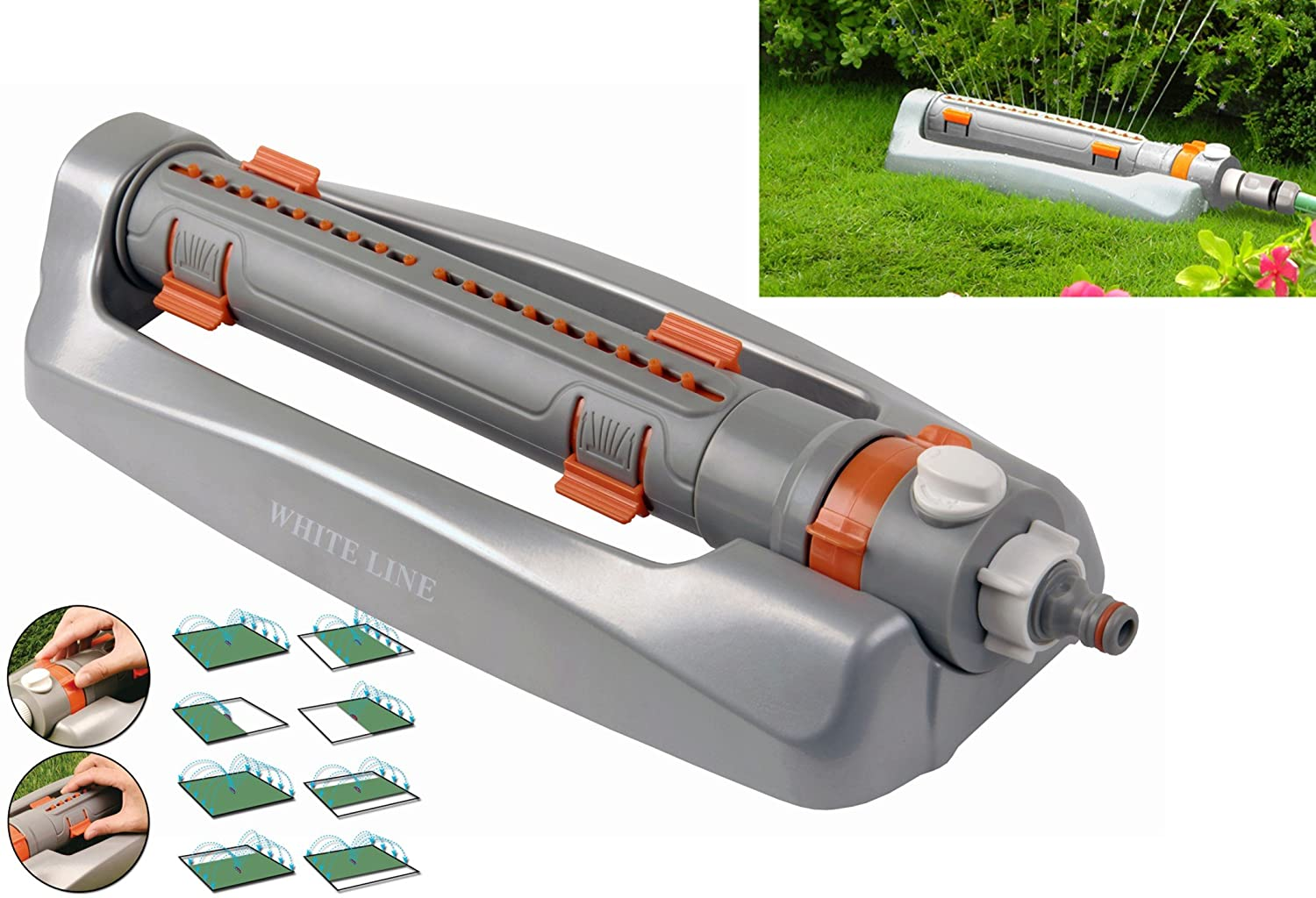 Costwise Oscillating Bar Sprinkler