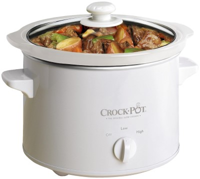 Crock-Pot Slow Cooker, 2.4 Litre - White Review