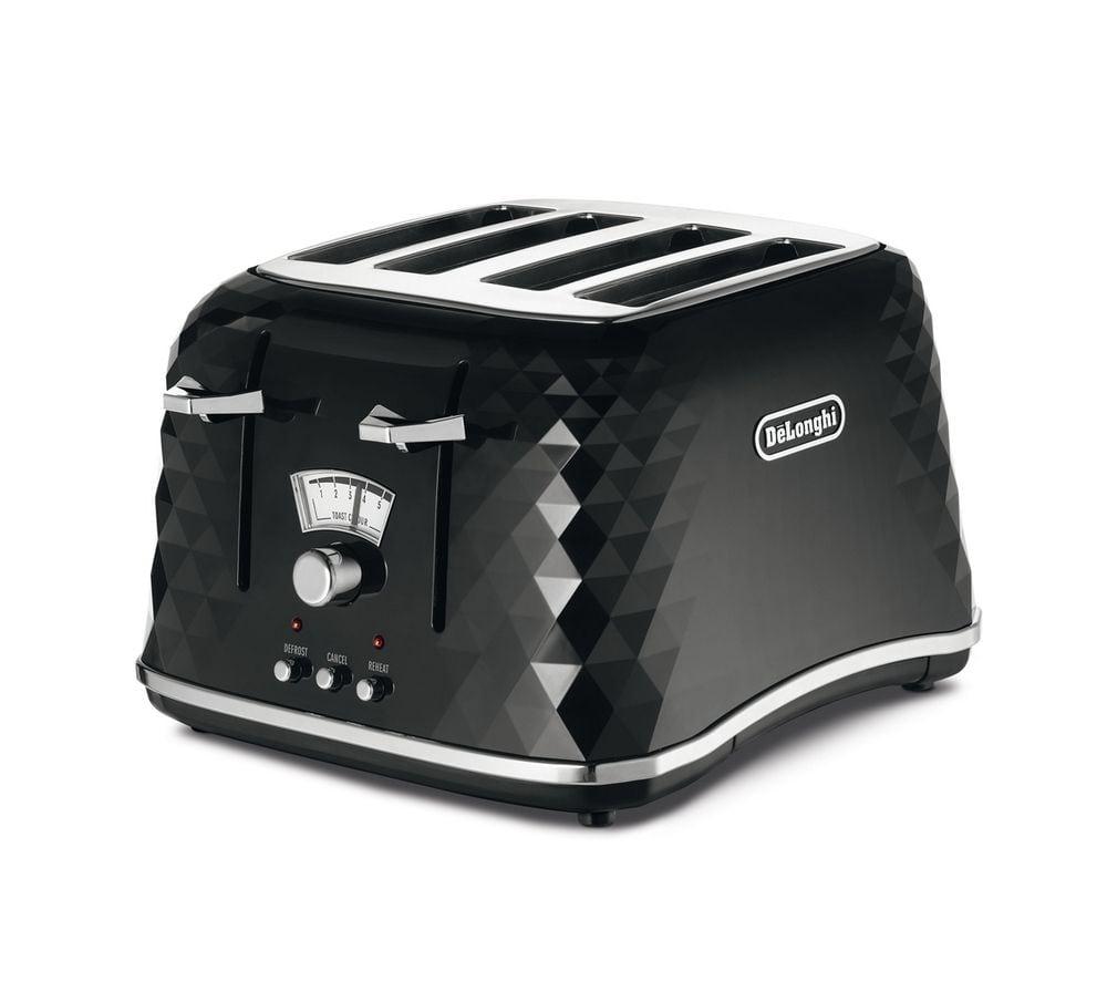 DELONGHI Brillante CTJ4003.BK 4-Slice Best Toaster Review