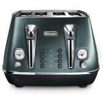 De'Longhi Distinta Flair 4 slot toaster