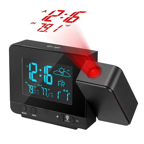 Dr. Prepare Projection Alarm Clock