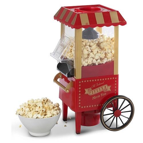 Elgento E26009 Popcorn Cart