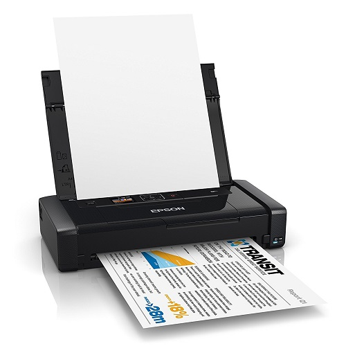 Epson WorkForce WF-100W Wireless Inkjet Portable Printer