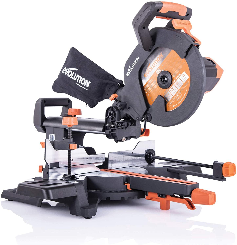Evolution Power Tools R255SMS+ Compound Saw