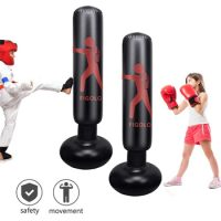 Figolo Inflatable Punching Bag for Kids