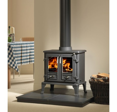 Firefox 8 Twin Door Wood Burning Multi Fuel Stove