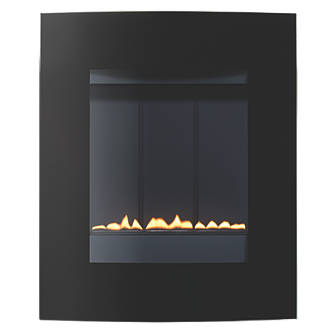 Focal Point Ebony Black Manual Control Gas Fire