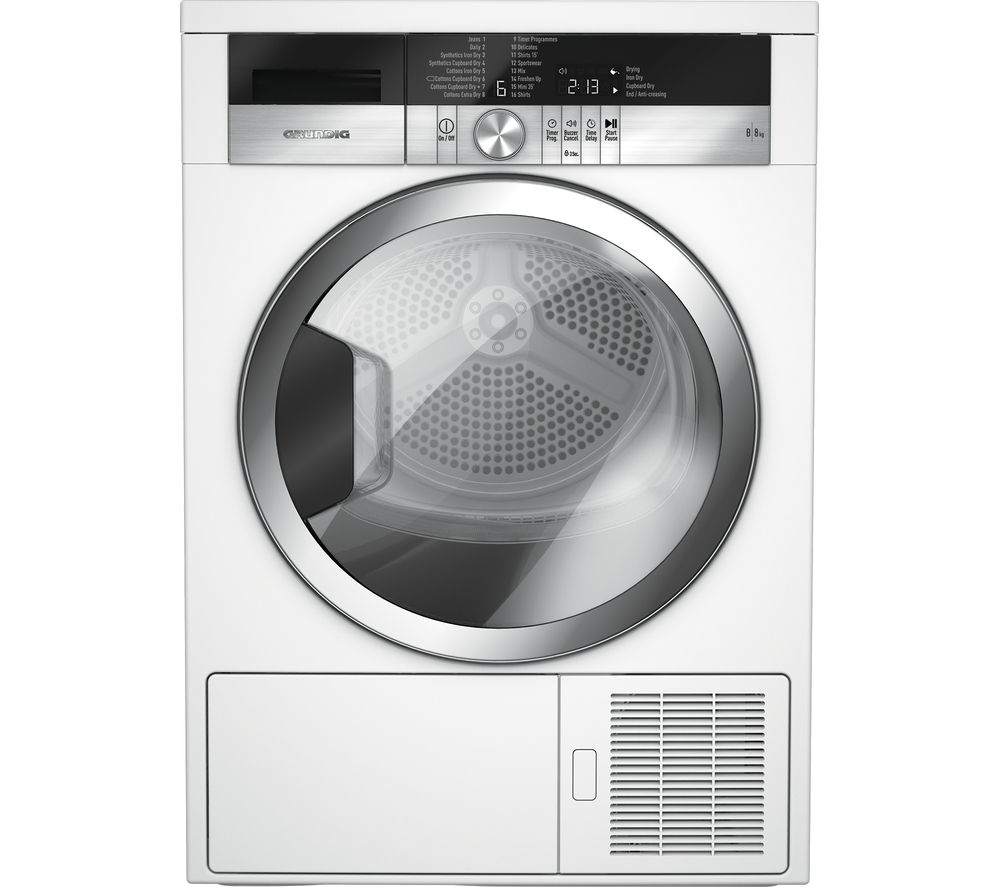 GRUNDIG GTN38110GCW Condenser Tumble Dryer Review