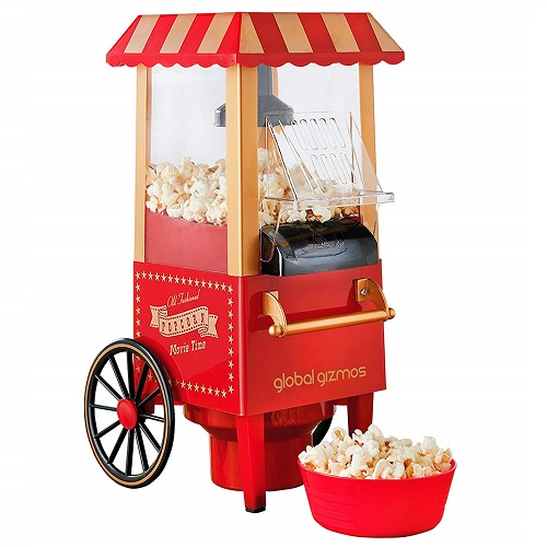 Global Gizmos 50300 Fun Fairground Party Popcorn Maker