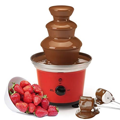 Global Gourmet Belgian Chocolate Fountain Fondue Large Set