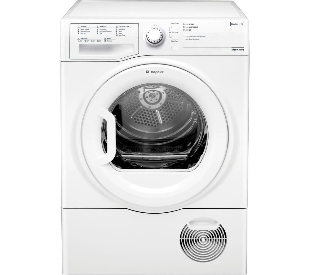 HOTPOINT Aquarius TCFS93BGP Condenser Tumble Dryer Review