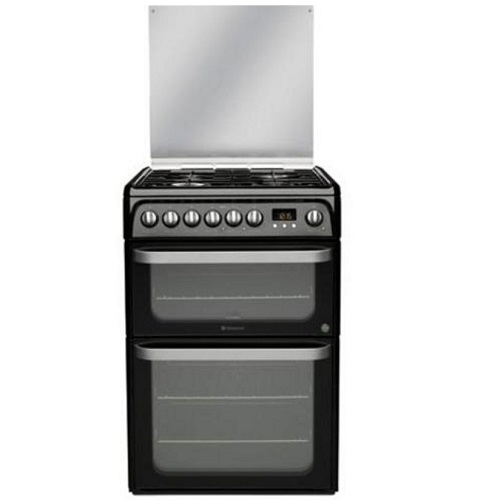 Hotpoint HUD61K Ultima S Dual Fuel Cooker