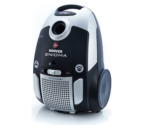 Hoover Enigma Pets Bagged Cylinder Vacuum Cleaner