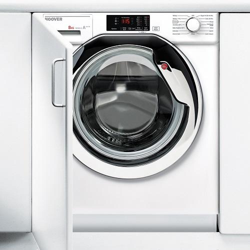 Hoover HBWM814DC Integrated 8Kg Washing Machine