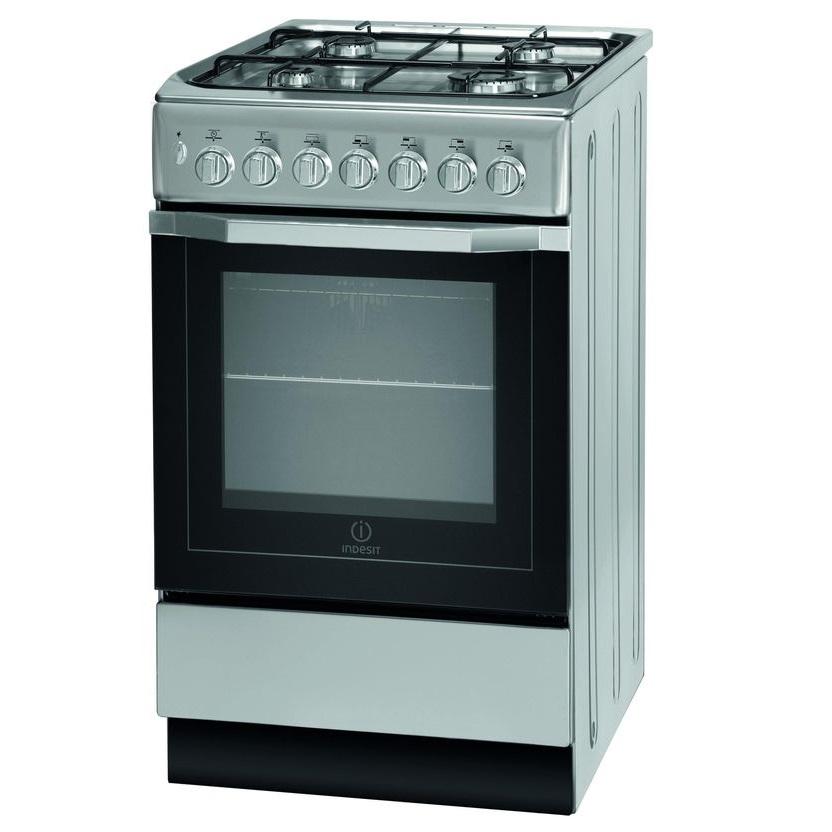 INDESIT I5GSH1(S) 50 cm Dual Fuel Cooker