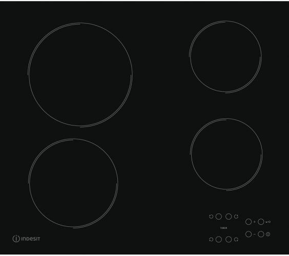 Indesit RI 161 C Electric Ceramic Hob