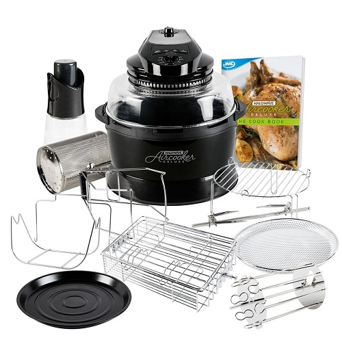 JML Black Halowave Oven