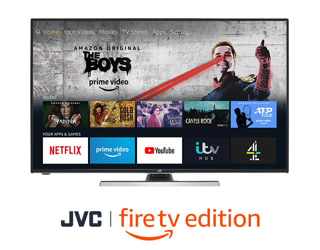 JVC Fire TV Edition Smart 4K HDR LED TVs