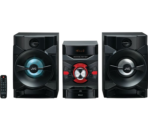 JVC MX-D328B Bluetooth Megasound Party Hi-Fi System