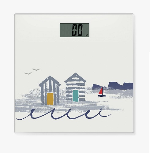 John Lewis & Partners Beach Hut Bathroom Scales