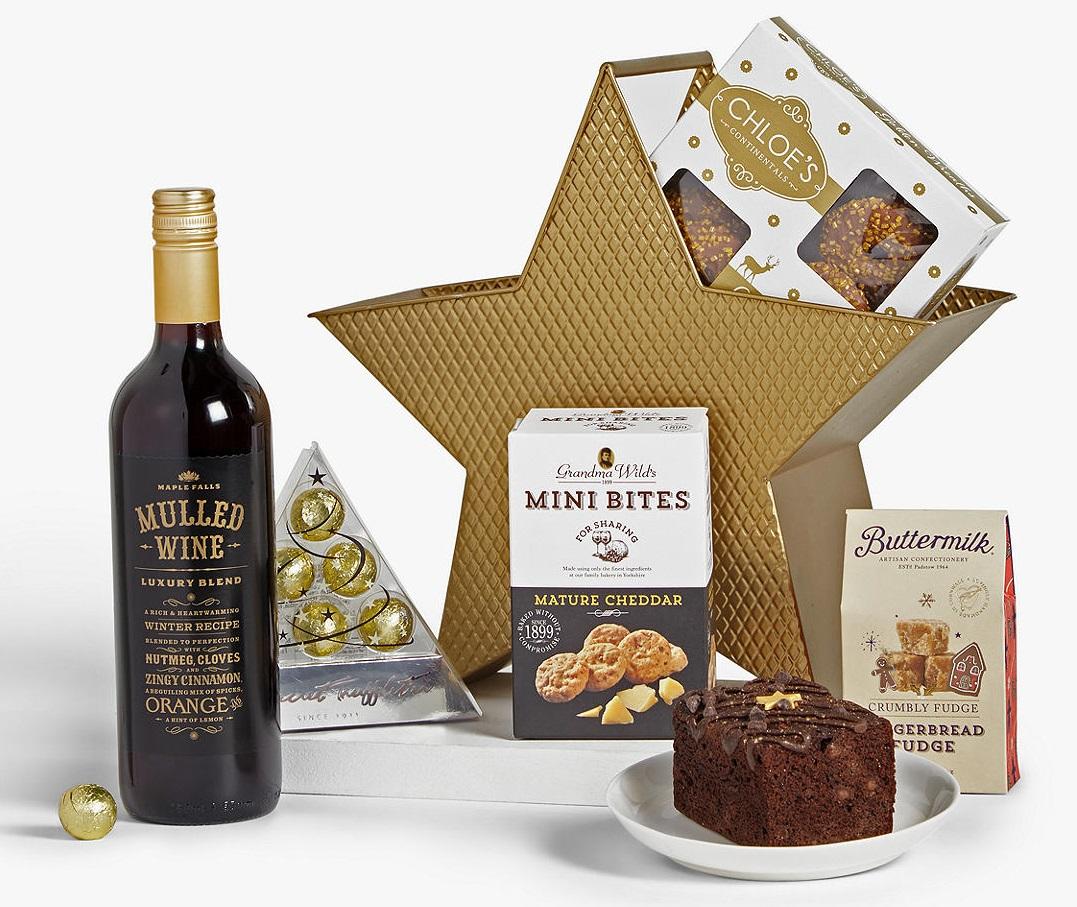 John Lewis & Partners Starry Delights Christmas Hamper
