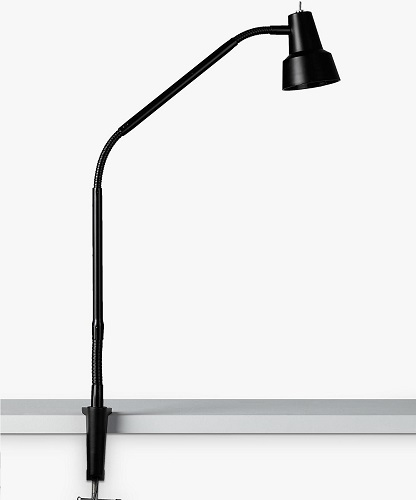 John Lewis & Partners Zadie LED Clip-on Desk Lamp