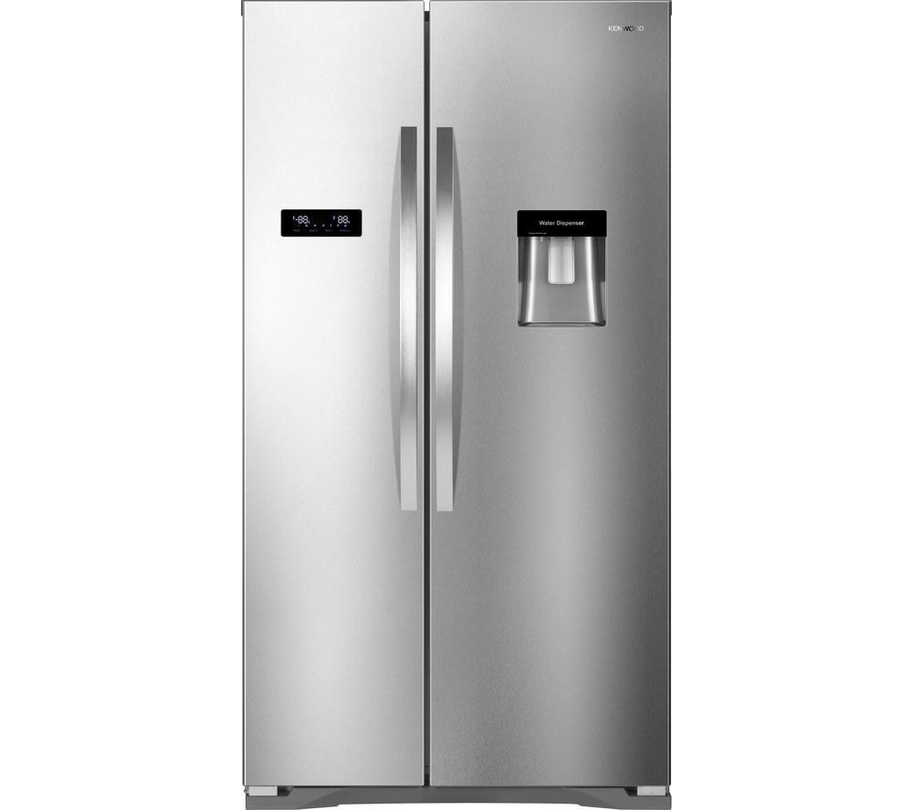 Best American Fridge Freezer Part - 18: KENWOOD KSBSDX15 American-Style Fridge Freezer Review