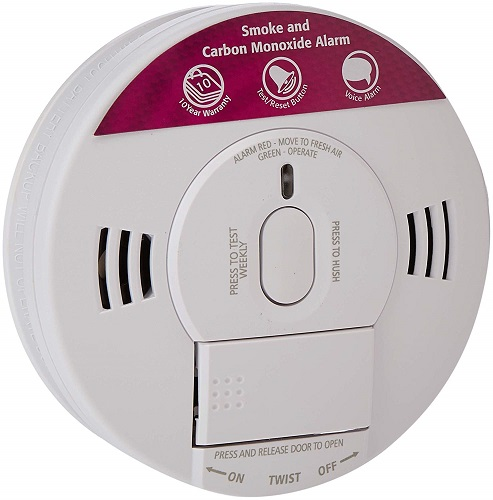 Kidde 10SCO Combination Smoke and Carbon Monoxide Alarm