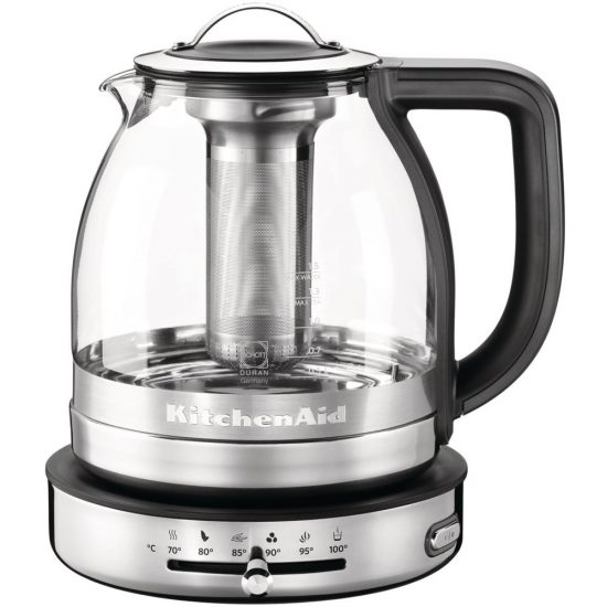 KitchenAid 5KEK1322BSS 1.5L Glass Tea Kettle