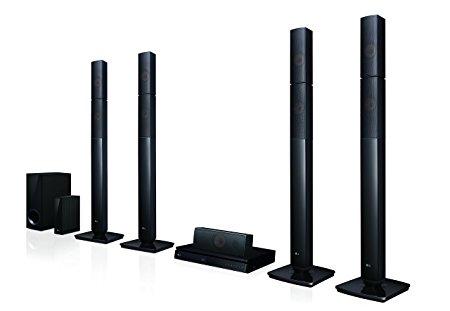 LG LOUDR LHB655NW 5.1 Theatre Speaker System