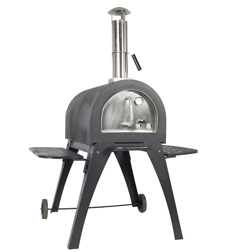 La Hacienda Milano 56196BQ Charcoal & Wood Pizza Oven